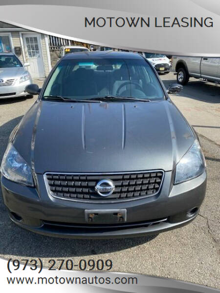 2006 Nissan Altima for sale at Motown Leasing in Morristown NJ