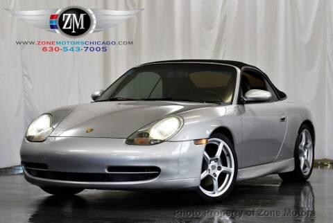 2001 Porsche 911 for sale at ZONE MOTORS in Addison IL