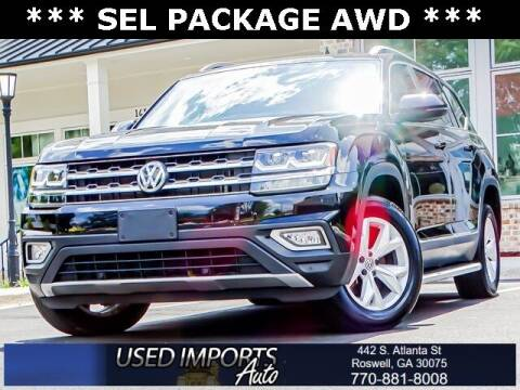 2018 Volkswagen Atlas for sale at Used Imports Auto in Roswell GA