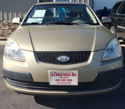 2007 Kia Rio for sale at QS Auto Sales in Sioux Falls SD