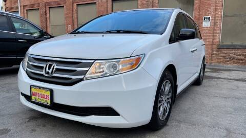 2012 Honda Odyssey for sale at Rocky's Auto Sales in Worcester MA