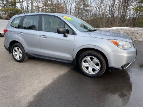 2015 Subaru Forester for sale at KRG Motorsport in Goffstown NH