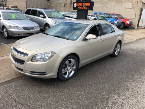 2011 Chevrolet Malibu for sale at STEEL TOWN PRE OWNED AUTO SALES in Weirton WV