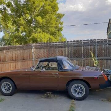 1978 MG MGB for sale at Classic Car Deals in Cadillac MI