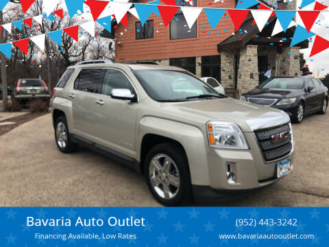2013 GMC Terrain for sale at Bavaria Auto Outlet in Victoria MN