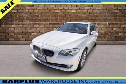 2011 BMW 5 Series for sale at Karplus Warehouse in Pacoima CA