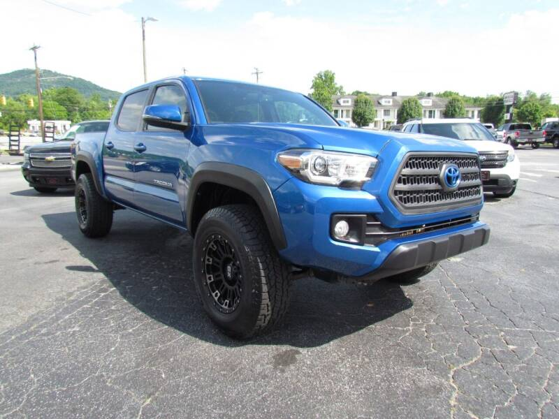 2017 Toyota Tacoma for sale at Hibriten Auto Mart in Lenoir NC