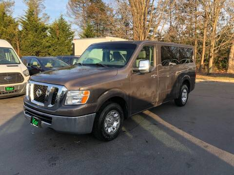 2014 Nissan NV Passenger for sale at iCar Auto Sales in Howell NJ