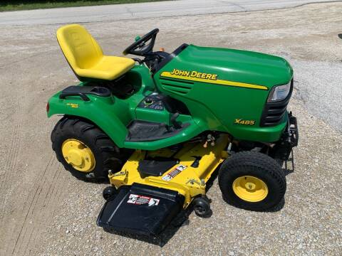 2004 John Deere X485 for sale at GREENFIELD AUTO SALES in Greenfield IA