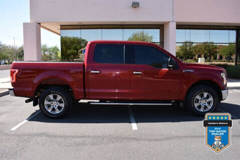 2015 Ford F-150 for sale at GOLDIES MOTORS in Phoenix AZ