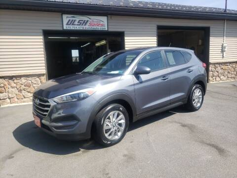 2018 Hyundai Tucson for sale at Ulsh Auto Sales Inc. in Summit Station PA