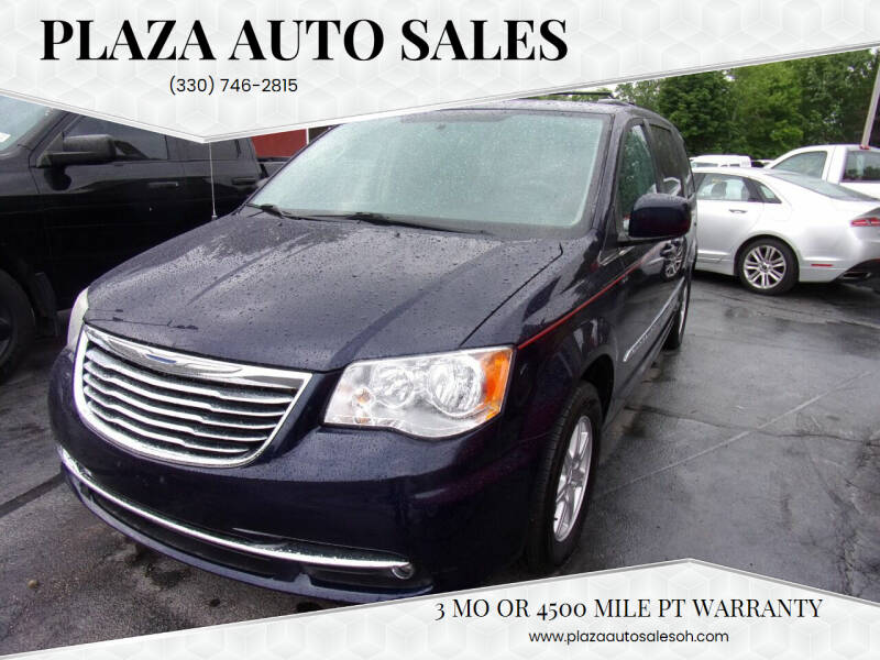 2012 Chrysler Town and Country for sale at Plaza Auto Sales in Poland OH