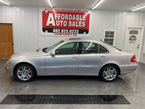 2003 Mercedes-Benz E-Class for sale at Affordable Auto Sales in Humphrey NE