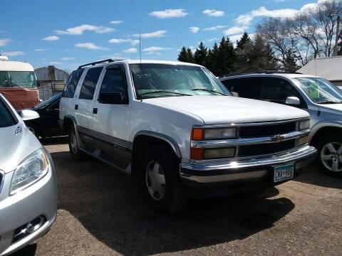 1998 Chevrolet Tahoe for sale at Affordable 4 All Auto Sales in Elk River MN