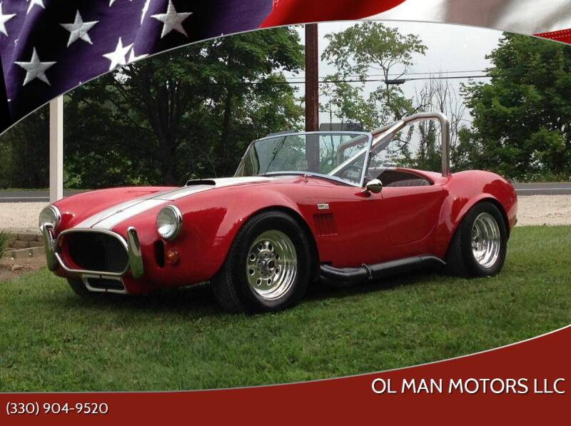 1966 Shelby Cobra for sale at Ol Man Motors LLC in Louisville OH