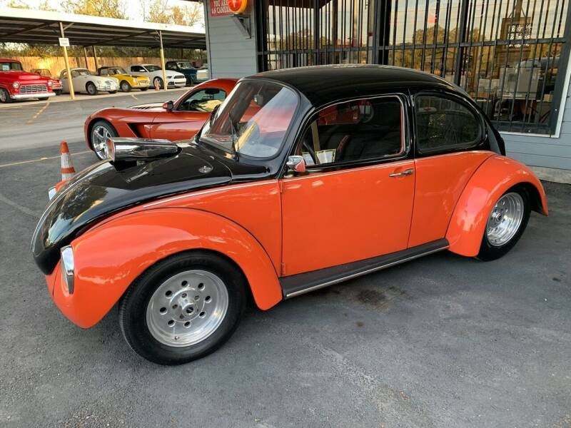 1974 Volkswagen Beetle for sale at TROPHY MOTORS in New Braunfels TX