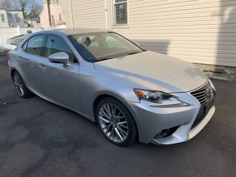 2015 Lexus IS 250 for sale at Towne Auto Sales in Kearny NJ