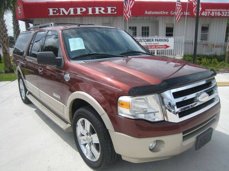 2008 Ford Expedition EL for sale at Empire Automotive Group Inc. in Orlando FL