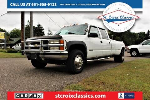 2000 Chevrolet C/K 3500 Series for sale at St. Croix Classics in Lakeland MN