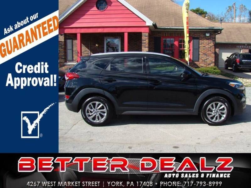 2016 Hyundai Tucson for sale at Better Dealz Auto Sales & Finance in York PA
