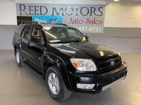 2004 Toyota 4Runner for sale at REED MOTORS LLC in Phoenix AZ