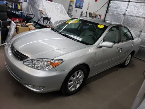 2003 Toyota Camry for sale at Devaney Auto Sales & Service in East Providence RI