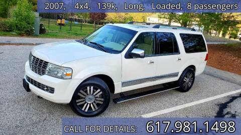 2007 Lincoln Navigator L for sale at Wheeler Dealer Inc. in Acton MA