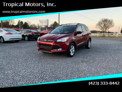 2013 Ford Escape for sale at Tropical Motors, Inc. in Riceville TN