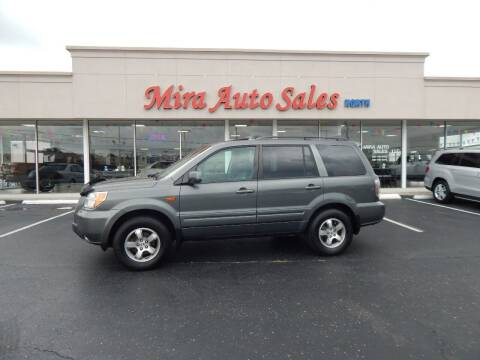 2007 Honda Pilot for sale at Mira Auto Sales in Dayton OH