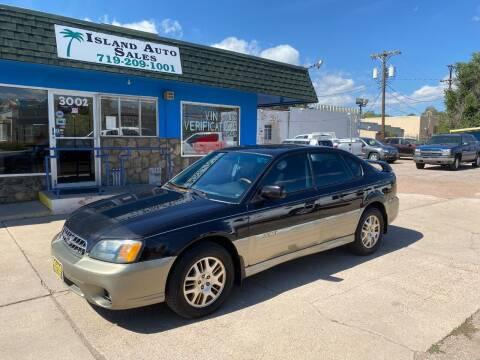2003 Subaru Outback for sale at Island Auto Sales in Colorado Springs CO