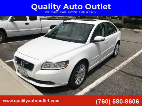 2011 Volvo S40 for sale at Quality Auto Outlet in Vista CA