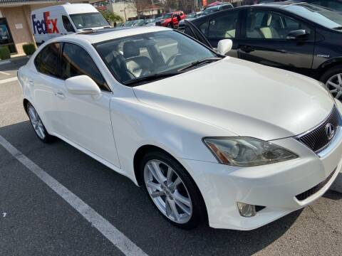 2006 Lexus IS 250 for sale at Coast Auto Motors in Newport Beach CA