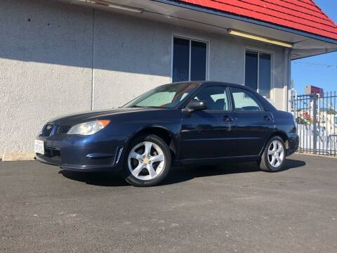 2006 Subaru Impreza for sale at BOARDWALK MOTOR COMPANY in Fairfield CA