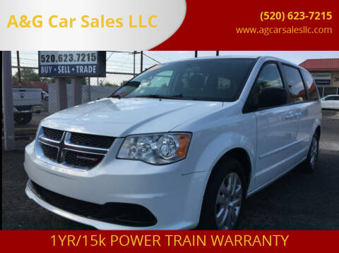2017 Dodge Grand Caravan for sale at A&G Car Sales  LLC in Tucson AZ