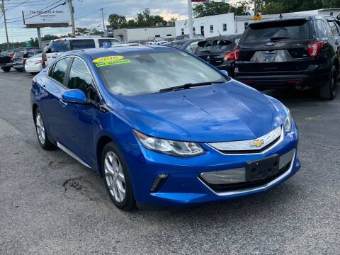 2016 Chevrolet Volt for sale at MetroWest Auto Sales in Worcester MA