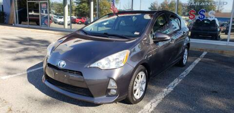 2012 Toyota Prius c for sale at Carz Unlimited in Richmond VA