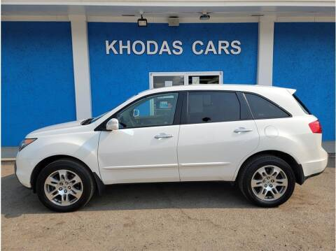 2009 Acura MDX for sale at Khodas Cars in Gilroy CA