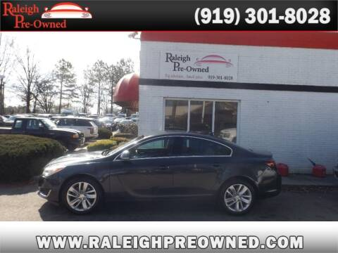 2014 Buick Regal for sale at Raleigh Pre-Owned in Raleigh NC