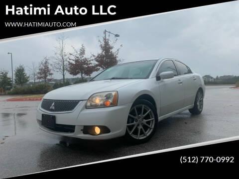 2012 Mitsubishi Galant for sale at Hatimi Auto LLC in Buda TX