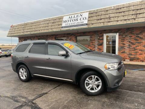 2011 Dodge Durango for sale at Allen Motor Company in Eldon MO