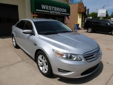2012 Ford Taurus for sale at Westbrook Motors in Grand Rapids MI