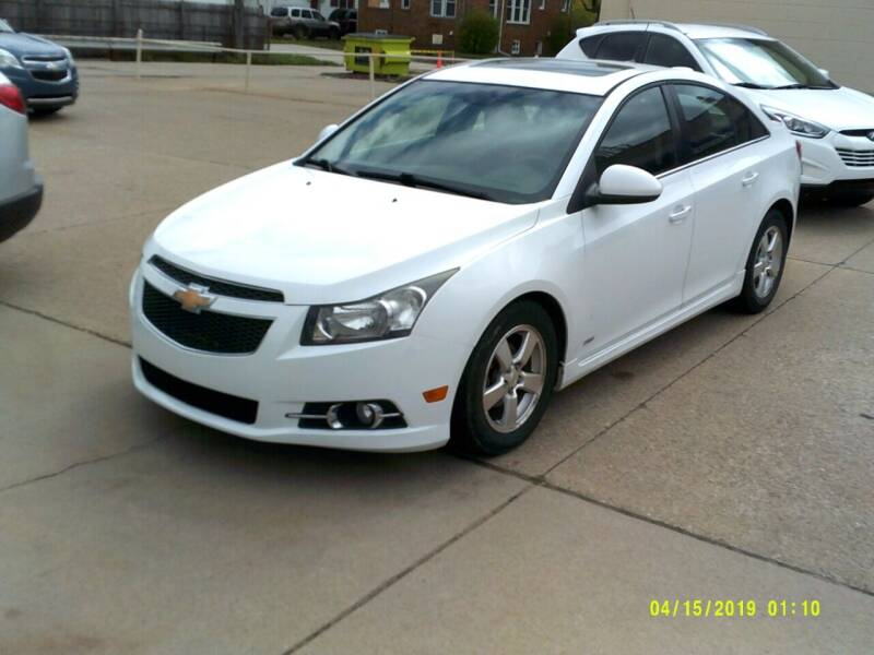 2011 Chevrolet Cruze for sale at Fred Elias Auto Sales in Center Line MI