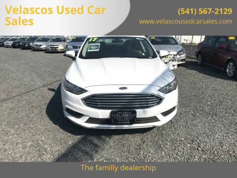 2017 Ford Fusion for sale at Velascos Used Car Sales in Hermiston OR