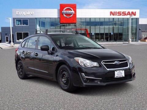 2016 Subaru Impreza for sale at EMPIRE LAKEWOOD NISSAN in Lakewood CO