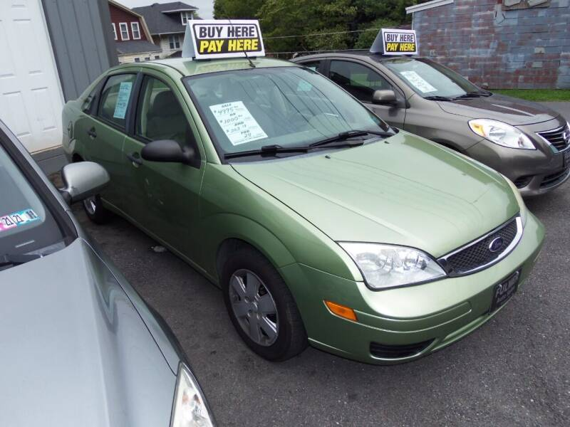 2007 Ford Focus for sale at Fulmer Auto Cycle Sales - Fulmer Auto Sales in Easton PA