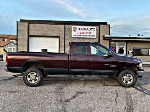 2005 Dodge Ram Pickup 2500 for sale at Ten 11 Auto LLC in Dilworth MN