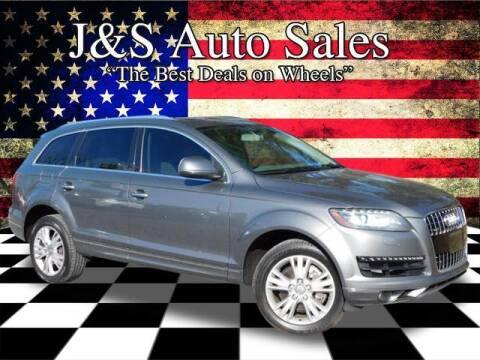 2010 Audi Q7 for sale at J & S Auto Sales in Clarksville TN