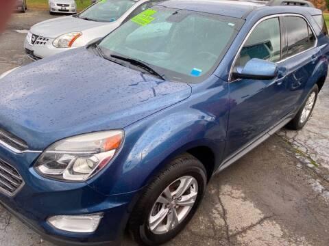 2016 Chevrolet Equinox for sale at Hillside Motors in Campbell NY