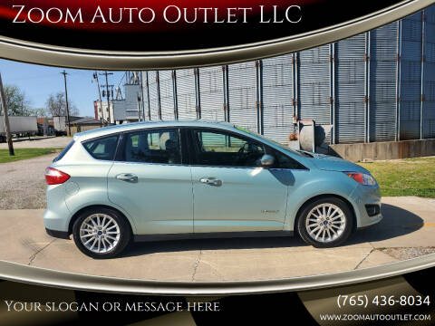 2013 Ford C-MAX Hybrid for sale at Zoom Auto Outlet LLC in Thorntown IN
