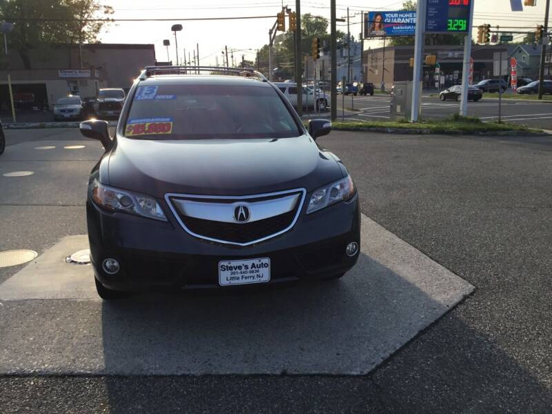 2013 Acura RDX for sale at Steves Auto Sales in Little Ferry NJ
